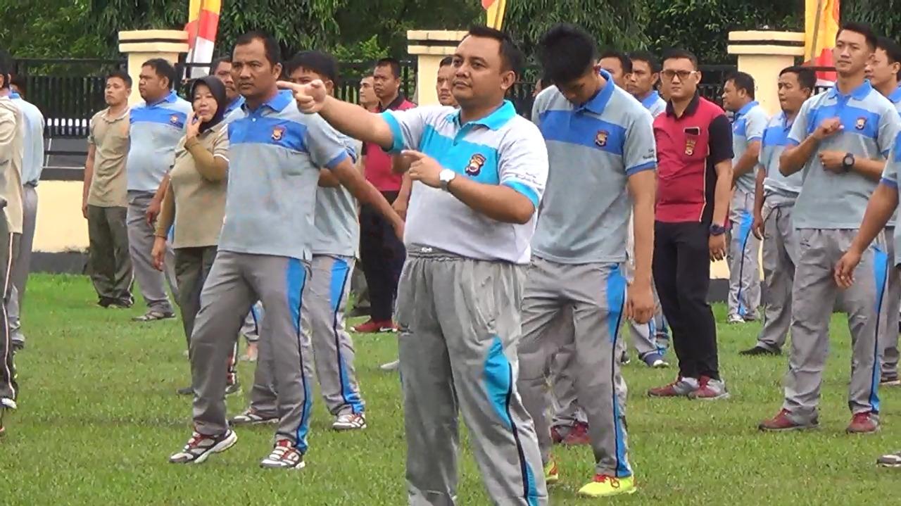 Hut Bhayangkara Ke 73,Polres BU gelar berbagai macam kegiatan