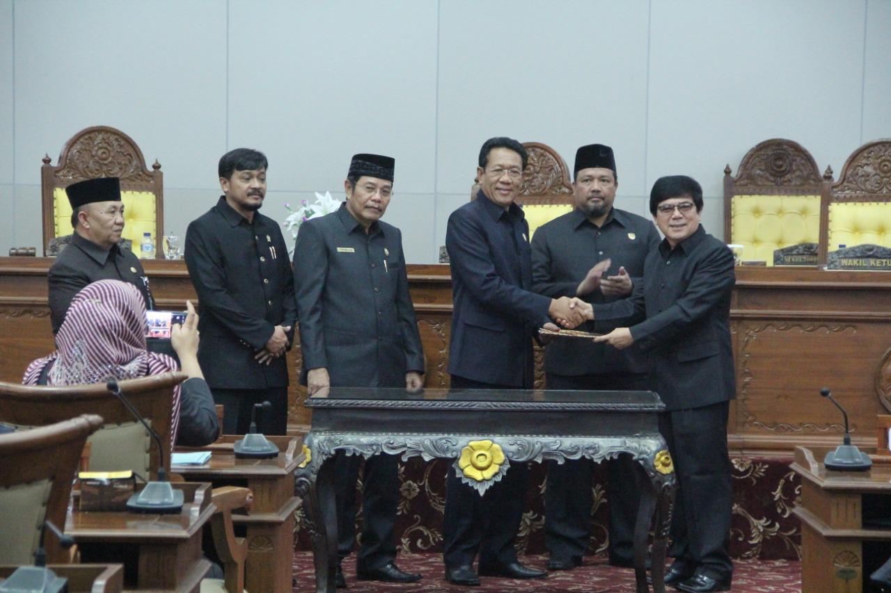 Dedy Ermansyah Terpilih Wagub Bengkulu Sisa Masa Jabatan 2016 – 2021
