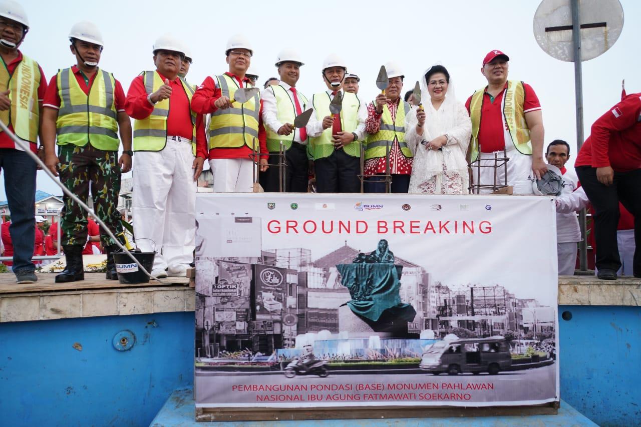 Momen Spesial HUT RI ke-74, Monumen Fatmawati Siap Dibangun