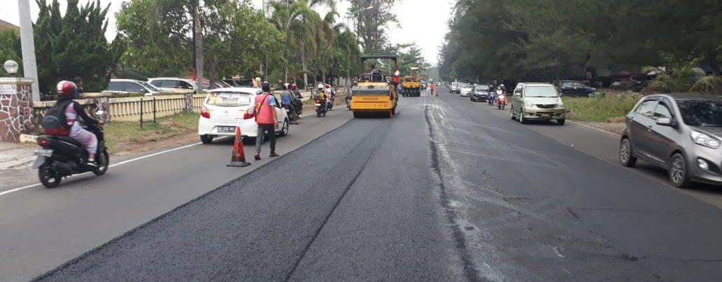 Peningkatan Jalan Hotmix Pantai Panjang telan anggaran 15 Milyar