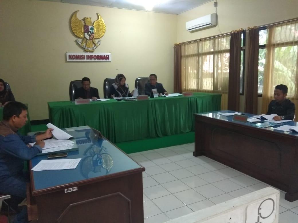 Sidang Perdana Pemkab BU Digugat Ke KIP