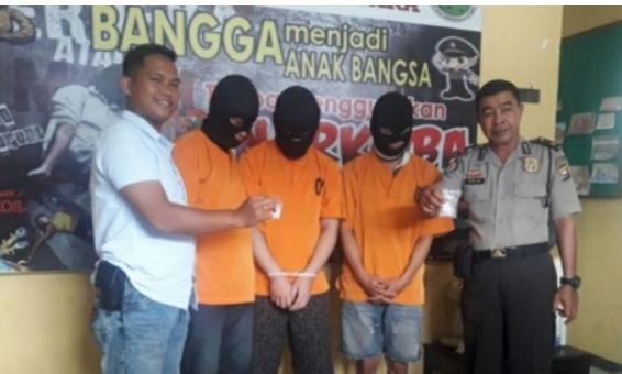Pelaku pengedar sabu Lapas IIB Arga Makmur di ancam minimal 5 tahun penjara