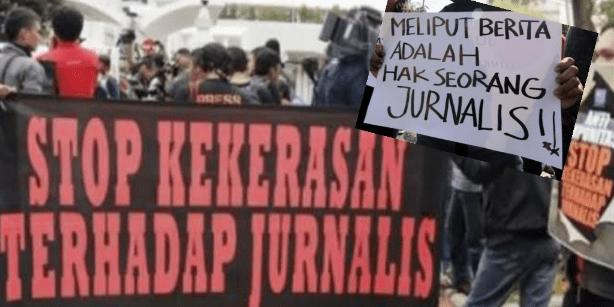 Hendak meliput,Seorang Wartawan dibentak KTD Desa Tanjung Raman