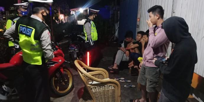 Cegah terjadinya Bali dan nongkrong Satlantas BU gelar Patroli ngabuburit
