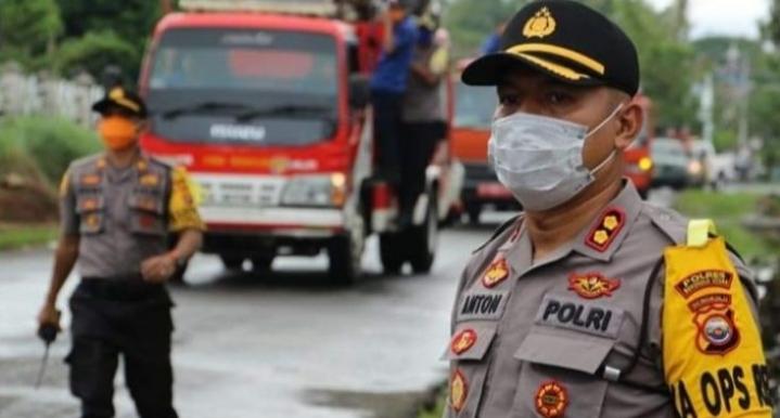 Antisipasi membludaknya Warga Kekota Arga Makmur,4 ruas pintu masuk ditutup