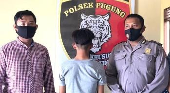 Bobol Rumah dan Curi Motor Tantenya, Remaja 16 Tahun Diamankan Polsek Pugung