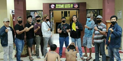 Polda Bengkulu Menangkap Diduga pelaku Pencurian Dengan Kekerasan