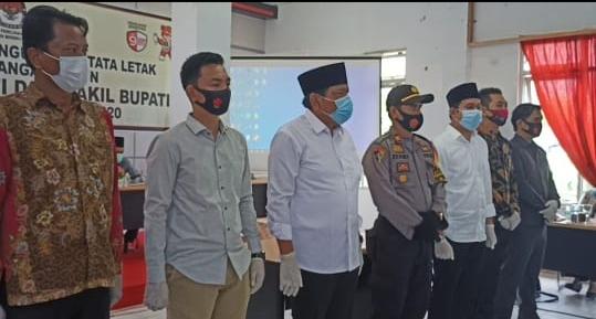 KPU Bengkulu Utara Gelar Rapat Pleno Letak Kolom Bergambar
