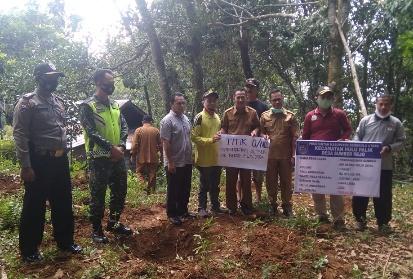 Desa Sumber Rejo Laksanakan Titiknol Bangun Sarana Air Bersih