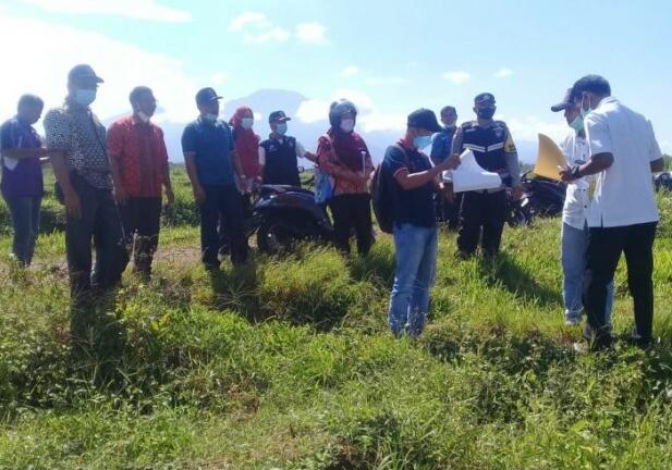 PemDes Tanjung Raman Laksanakan Titiknol Bangun Rabat Beton dan Pelapis Tebing